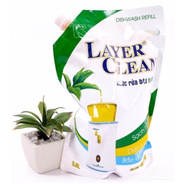 Nước rửa bát hữu cơ không hoá chất 2 lit, hương quýt, hồng.