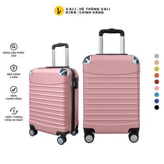 Vali kéo du lịch phổ thông UZO-208 kích thước 20, 24 inch chính hãng Hùng Phát - Bảo hành 5 năm thumbnail