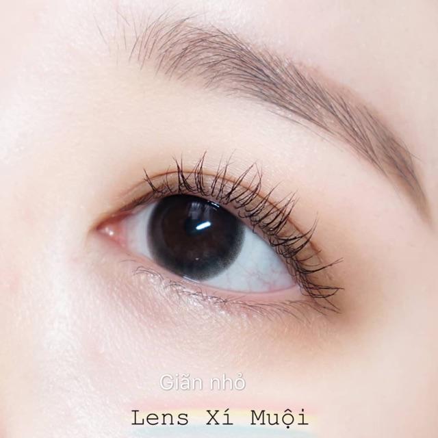 Lens màu đen giãn nhỏ/to có cận (từ 0-6 độ)