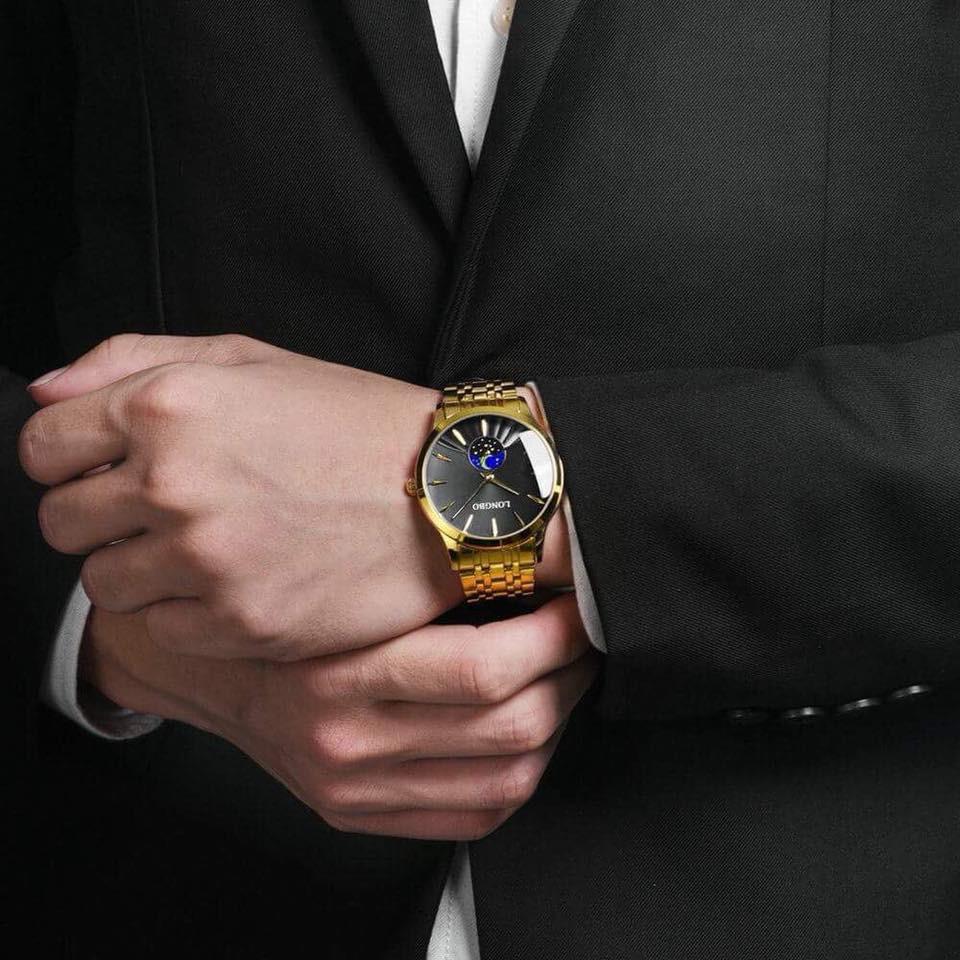 Đồng hồ cặp LongBo nam nữ LB09.