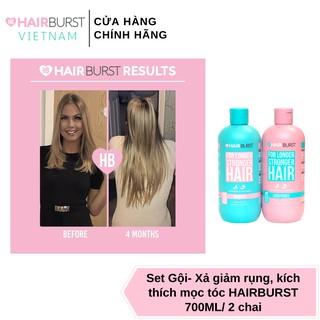 Hình ảnh Set gội xả HAIRBURST kích thích tóc mọc dài hơn chắc khỏe hơn 350ml/chai-7