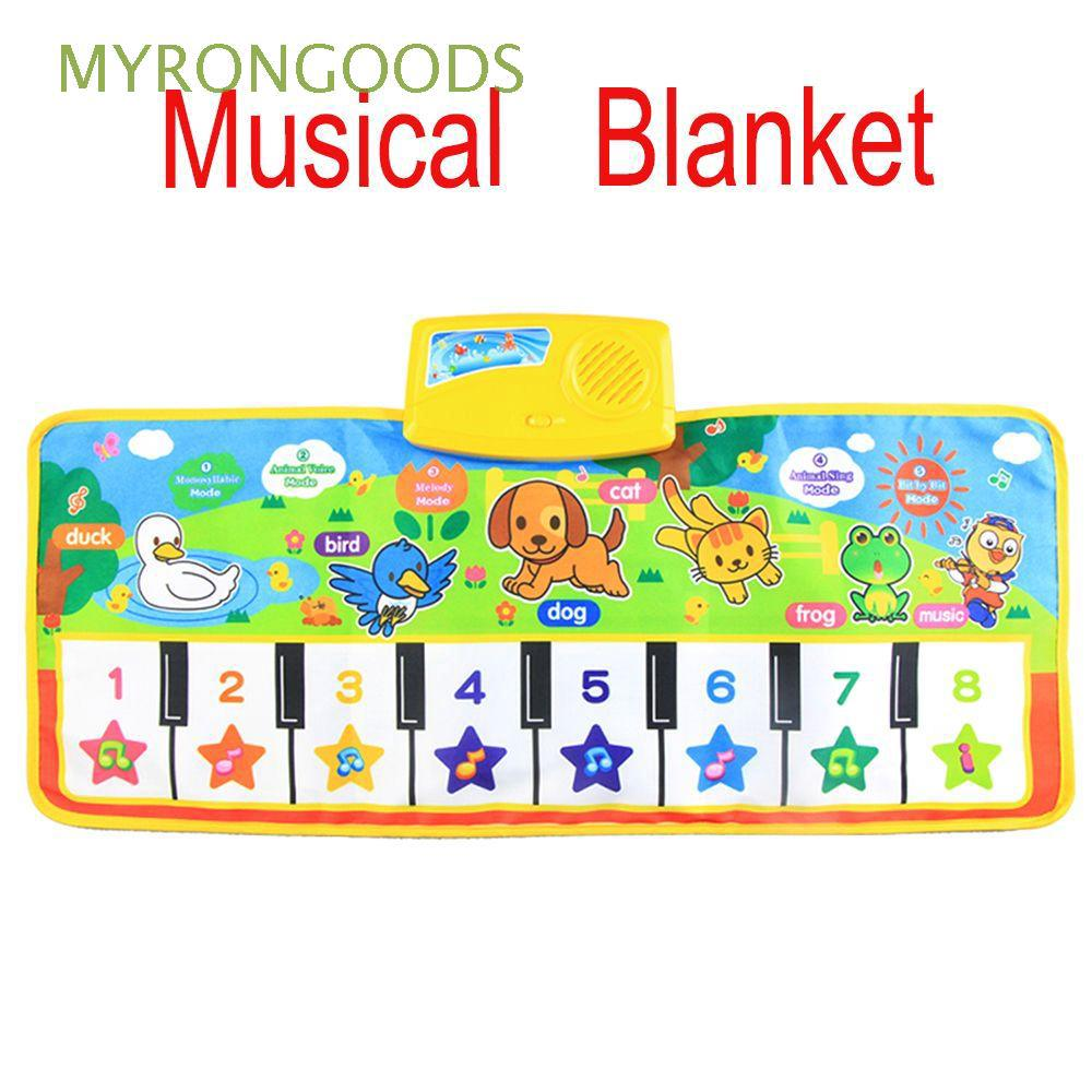 Educational Funny Baby Gift Children Toddler Toy Music Blanket