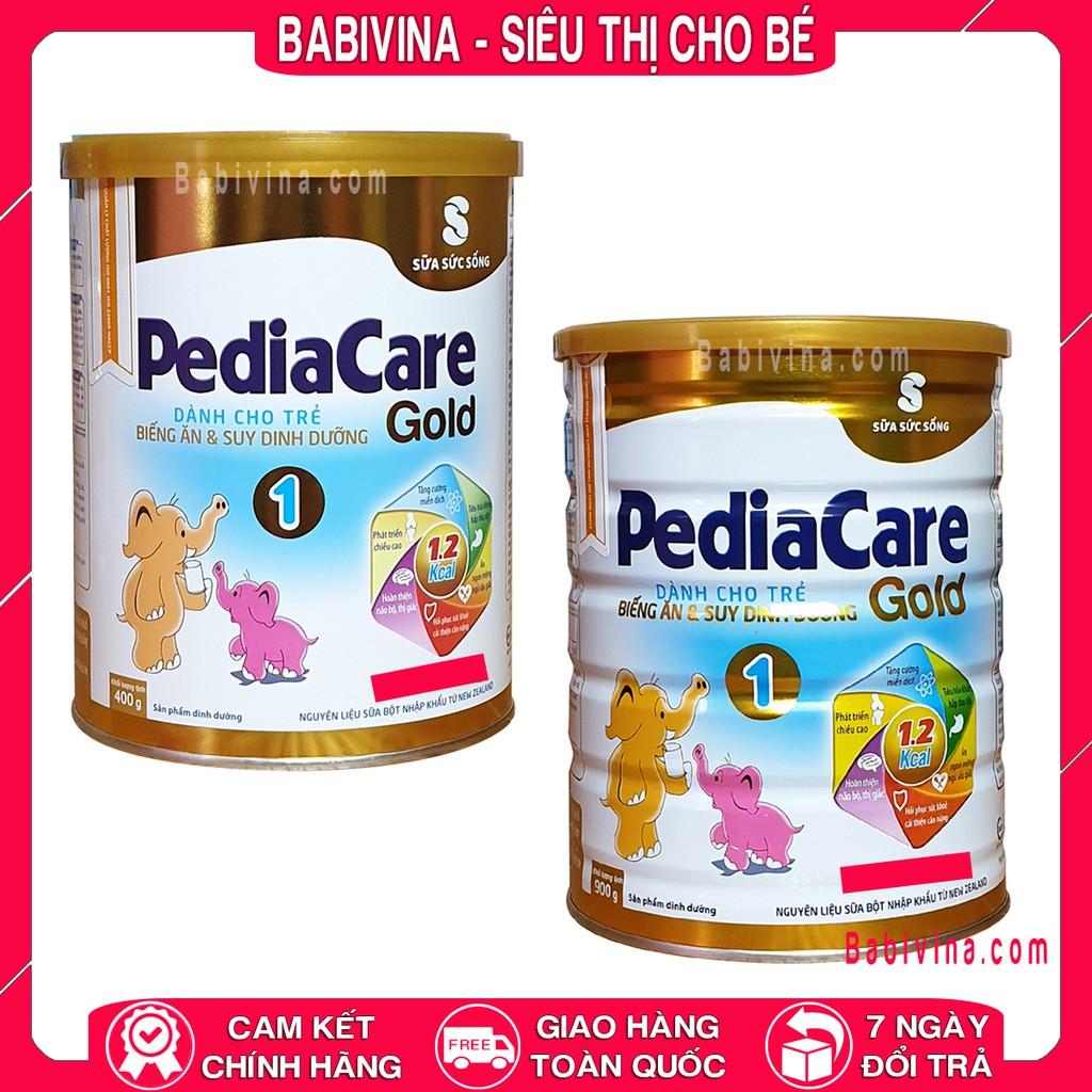 [LẺ GIÁ SỈ] Sữa Pediacare Gold 1 400g - 900g Viện Dinh Dưỡng Dành Cho Trẻ Biếng Ăn - Suy DInh Dưỡng (pedia care gold)