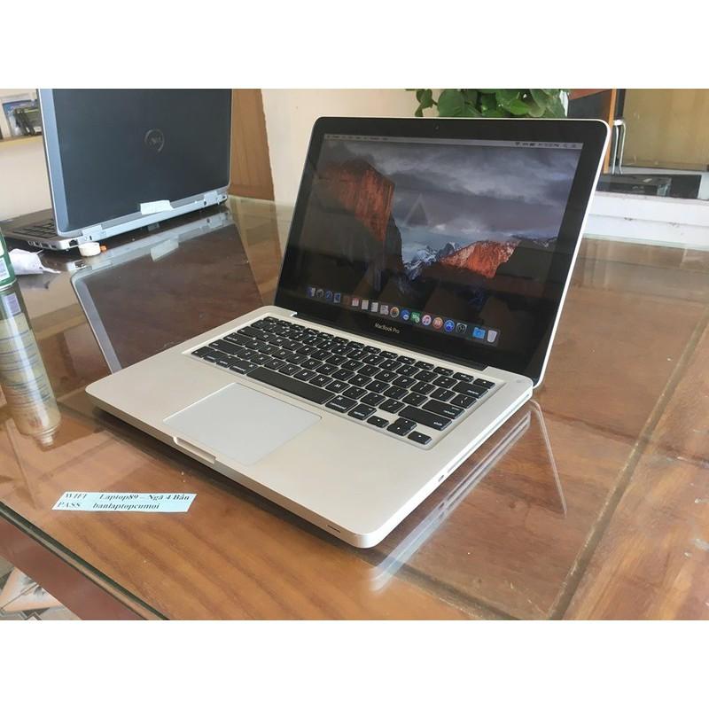 Macbook Pro 2011 13Inch core I5 Ram 4G HDD 500GB HỖ TRỢ NÂNG CẤP RAM SSD Ổ CỨNG ....