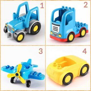 Gorck - các loại xe,máy bay tương thích lego duplo thumbnail