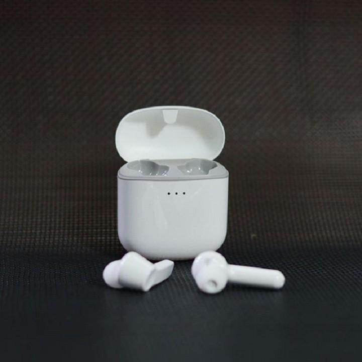 Tai nghe Bluetooth Mini True Wireless Remax TWS-7 V5.0 kết nối từng tai riêng lẻ, âm thanh cực hay, pin dùng đến 4H
