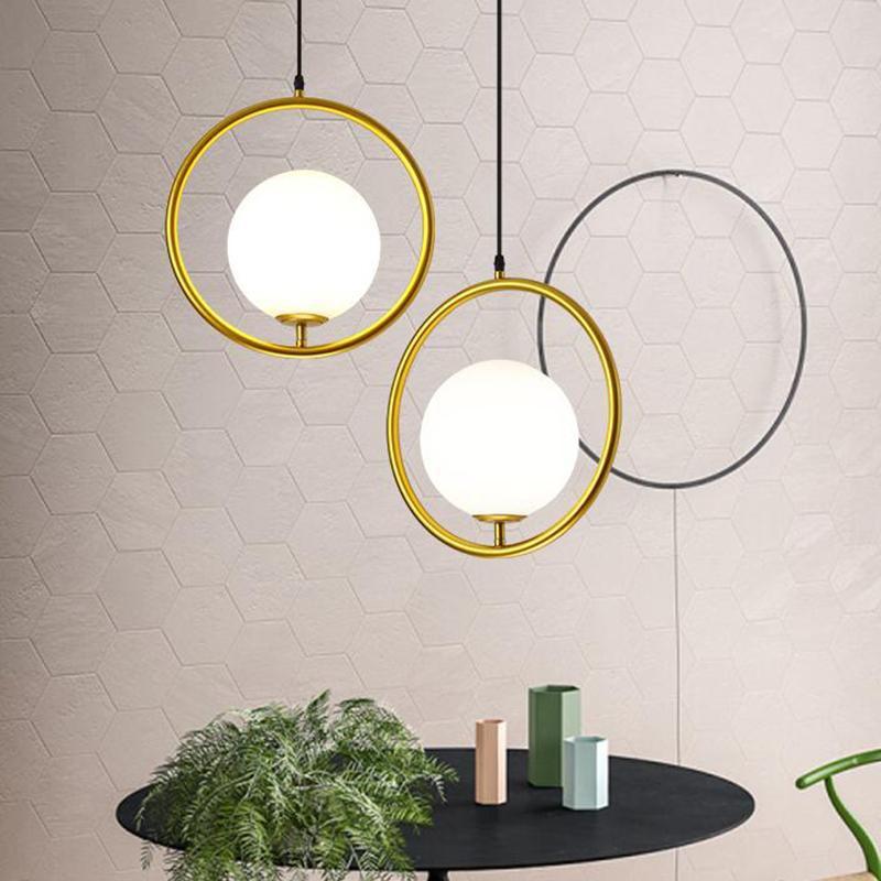 Đèn thả MONSKY YUMI hiện đại, cao cấp loại to D20cm kèm bóng LED chuyên dụng - Tô điểm cho không gian sống
