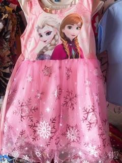 Váy elsa cho bé gái 10-30kg