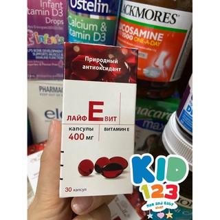 Vitamin E Đỏ Nga Zentiva 400 – NGA 100%