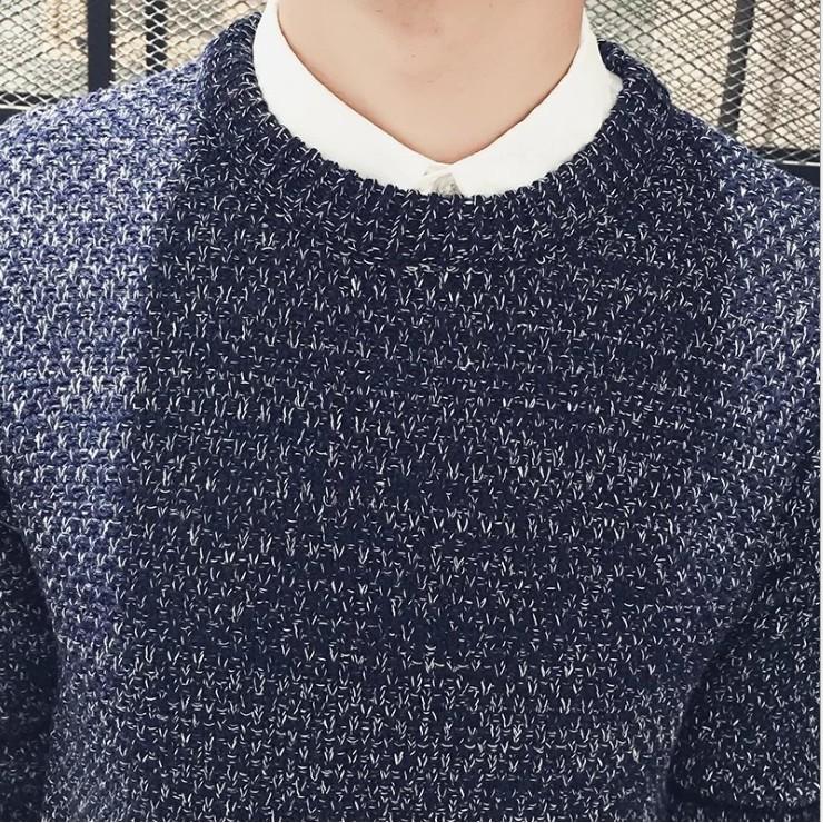 ÁO LEN TIÊU DÀY MẪU MỚI NHẤT - áo len dài tay cổ tròn