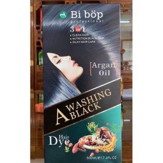 Dầu gội Đen tóc Bibop thảo dược nhập khẩu Nhật Bản