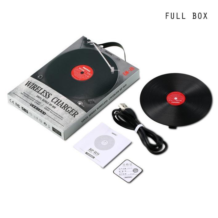 Đế sạc nhanh không dây Remax Vinyl Series RP-W9