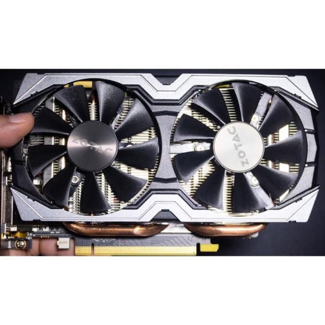 Card Màn Hình VGA ZOTAC GTX 1070 8GB 2 Fan Hiệu Năng Cao Hơn GTX 1060 3GB, GTX 1060 6GB. Đã Qua Sử Dụng Giá chỉ 4.000.000₫