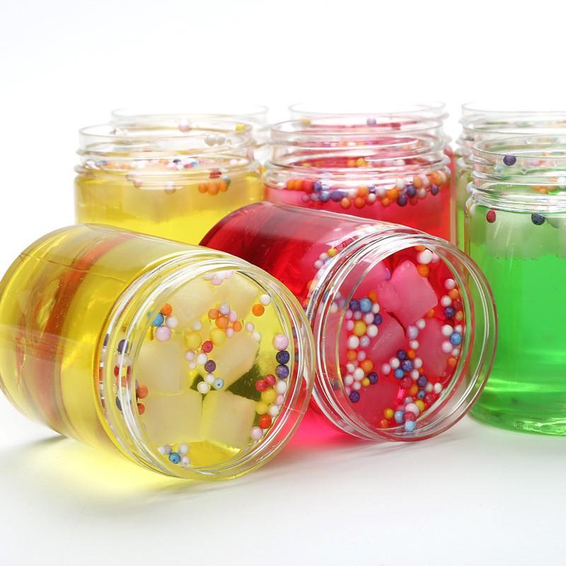 đồ chơi slime -lọ chất nhờn mềm dẻo lọ có thạch xốp mã RNO42 Bmic