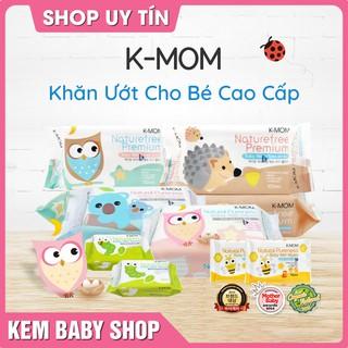 [Chính Hãng] Khăn ướt cao cấp K-Mom Hàn Quốc (100c) – khăn ướt kmom không mùi cho bé