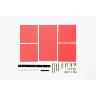 15492 Phụ kiện xe đua Mini 4WD BRAKE SPONGE SET (1/2/3mm RED)