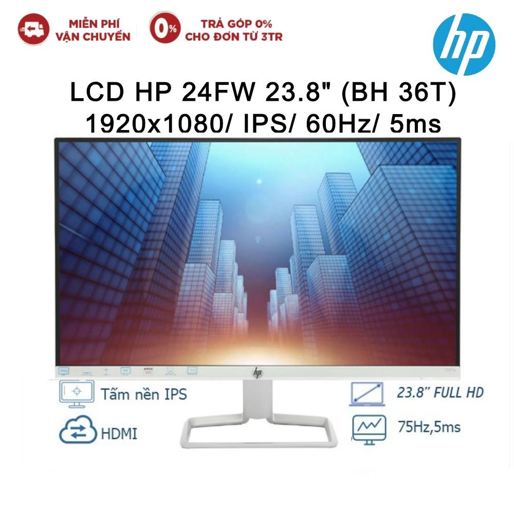 Màn hình máy tính HP 24fw 23.8 inch_3KS63AA - Hàng Chính Hãng