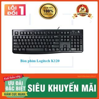 [Logitech] Bàn phím Logitech K120-Bảo hành 36T