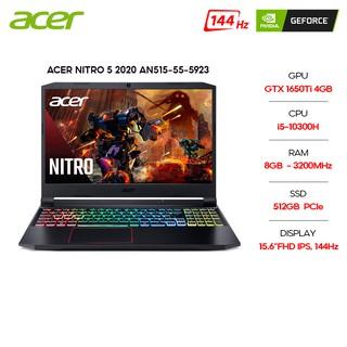 Laptop Acer Nitro 5 2020 AN515-55-5923 i5-10300H 8GB 512GB GTX1650Ti 15.6