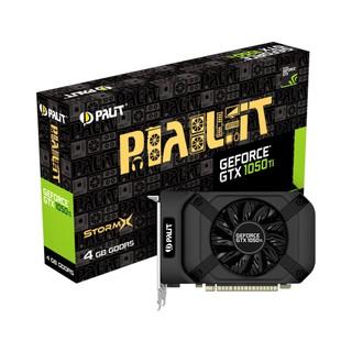 Card đồ họa VGA Palit GeForce 1050 Ti StormX 4GB GDDR5-1076F HDMI+DVI – Hàng Chính Hãng Bảo hành 36 tháng