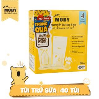 Túi trữ sữa Moby Baby