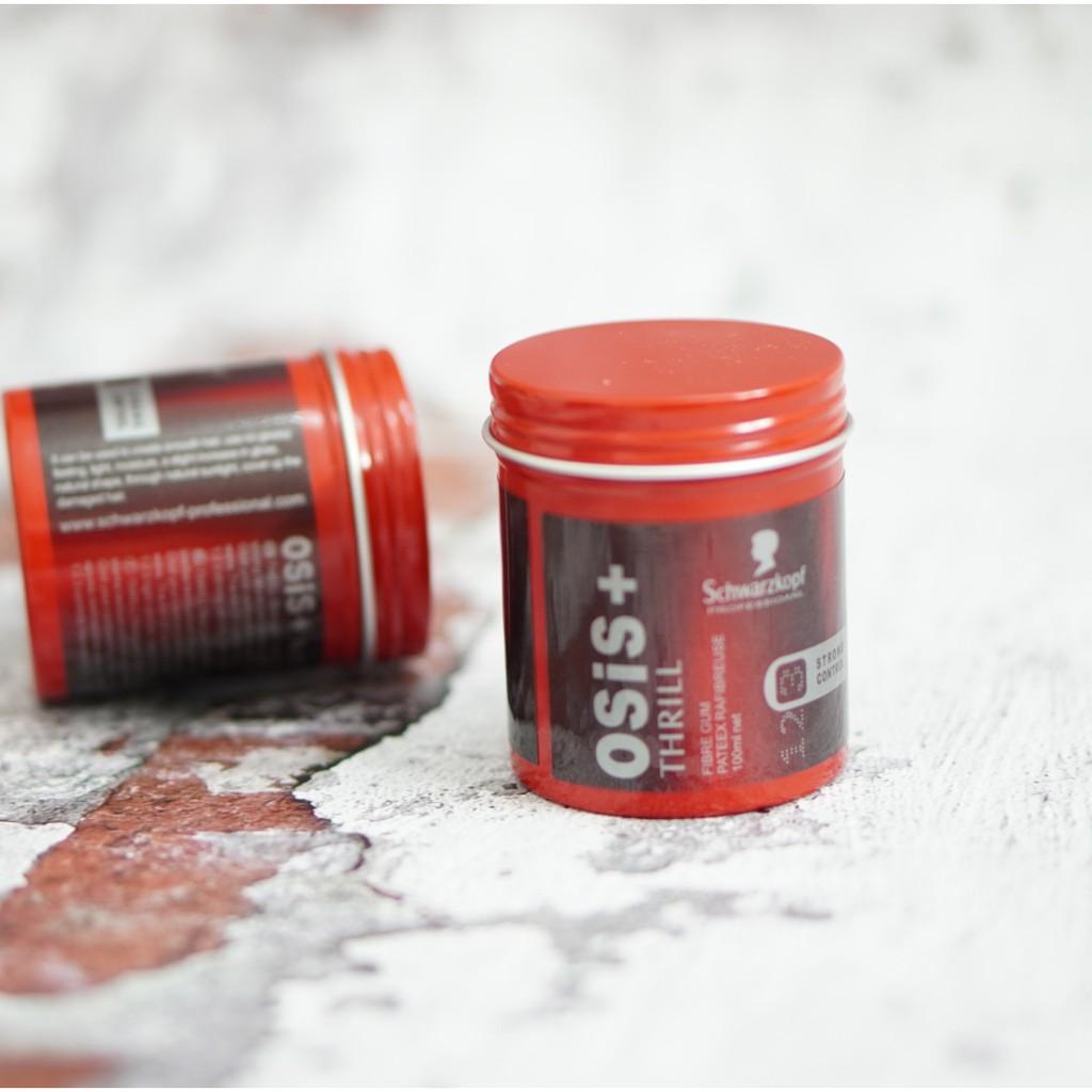 💥CHÍNH HÃNG💥 SÁP VUỐT TÓC NAM Osis+ Thrill 100ml (giữ nếp 10-14h) hút ẩm tốt dành cho Nam / sap vuot toc/ keo vuốt tóc