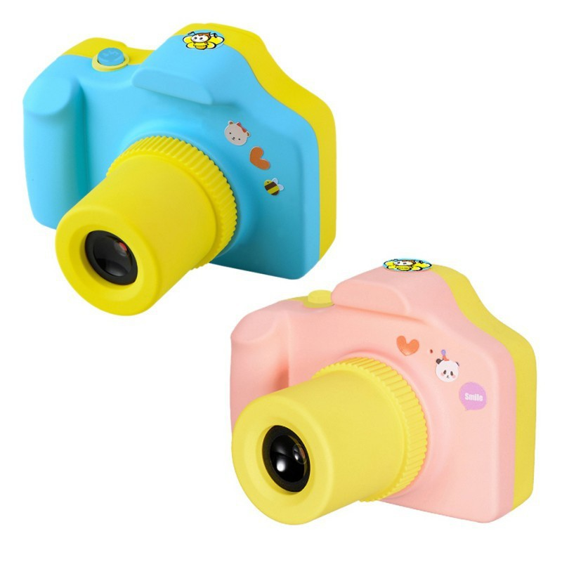 BOBORA 1.77 Inch Kids Baby Children Mini Digital Camera LCD Mini Camera Birthday Christmas Gift Toys