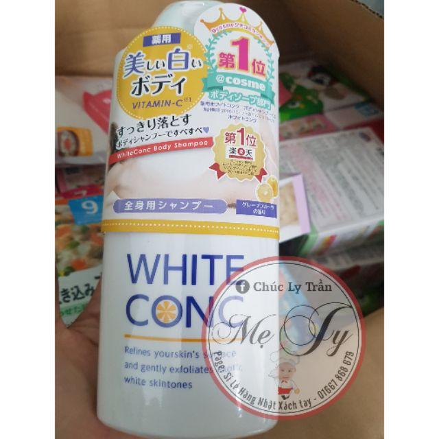 Sữa tắm White Conc nội địa nhật