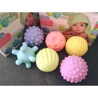 Set 6 bóng phát triển giác quan cho bé sơ sinh an toàn