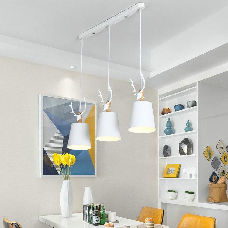 Bộ đèn thả MONSKY BELIN cao cấp kèm bóng LED chuyên dụng và đế ốp trần