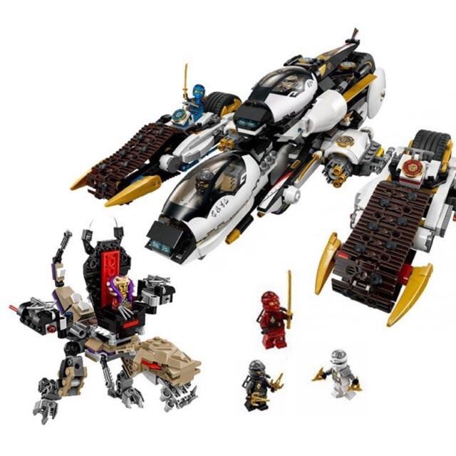 Lego ninja 79347- Phi cơ chiến đấu bí mật
