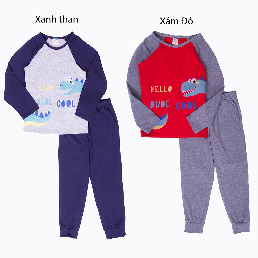 Bộ thu đông cho bé trai mặc nhà Beddep Kids Clothes