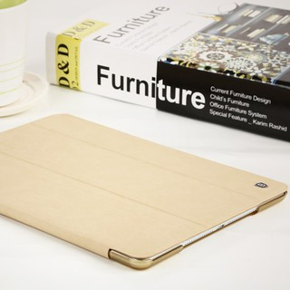 Bao da iPad Air 2 Baseus Grace (kaki)