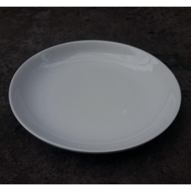 Dĩa sứ trắng kích thước 23cm