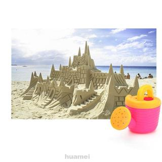 9pcs/Set Toy Set Beach Colorful Funnel Gifts Glasses Kettle Plastic Seaside Simulation Random Color