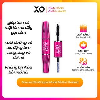 Mascara Dài Mi Super Model Mistine Thailand nuôi dưỡng và tác động làm cong, dày thumbnail