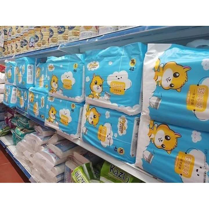 Bỉm xuất Hàn Totoro dán/quần đủ size dán S60-M52-L46, quần M48-L46-XL42-XXL40-XXXL38