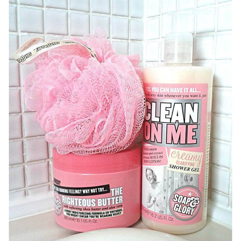 Sữa tắm Soap & Glory Clean On Me - 3409331 , 984616096 , 322_984616096 , 370000 , Sua-tam-Soap-Glory-Clean-On-Me-322_984616096 , shopee.vn , Sữa tắm Soap & Glory Clean On Me