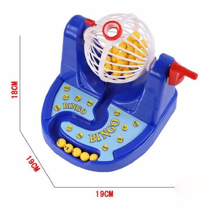 Bộ đồ chơi quay số Bingo Lotto độc lạ cực hot