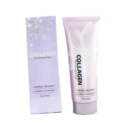 Dầu Hấp Tóc Collagen For Damaged Hair - Phục Hồi Tóc Hư Tổn 260Ml thumbnail