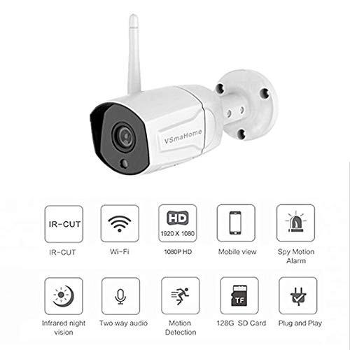 Camera IP không dây ngoài trời VSmaHome HD 1080P IP66 chống nước, tầm nhìn ban đêm