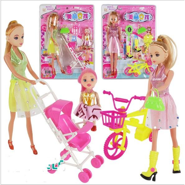 [FOLLOW SHOP 19K, 19H-20H, 09/6/2018] Búp bê Barbie đẩy xe nôi và Barbie đi xe đạp cỡ lớn mà giá rẻ - 2796300 , 953236972 , 322_953236972 , 99000 , FOLLOW-SHOP-19K-19H-20H-09-6-2018-Bup-be-Barbie-day-xe-noi-va-Barbie-di-xe-dap-co-lon-ma-gia-re-322_953236972 , shopee.vn , [FOLLOW SHOP 19K, 19H-20H, 09/6/2018] Búp bê Barbie đẩy xe nôi và Barbie đi xe đ