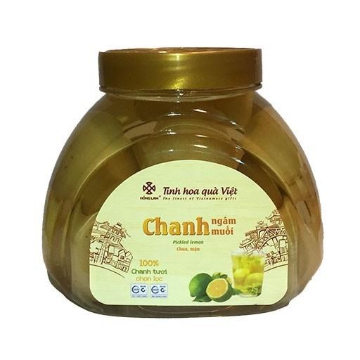Chanh Ngâm Muối Hồng Lam - Vị Chua Mặn - Hũ ( 850g - 2000kg )