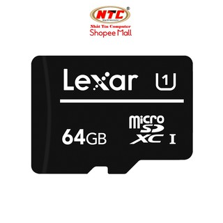 Thẻ nhớ MicroSDXC Lexar 64GB Class 10 U1 100Mb s (Đen) thumbnail