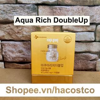 Viên Uống Innerb Aqua Rich , Aqua Rich DoubleUp 70 viên Hỗ Trợ Cấp Nước Và Collagen - Double Up thumbnail
