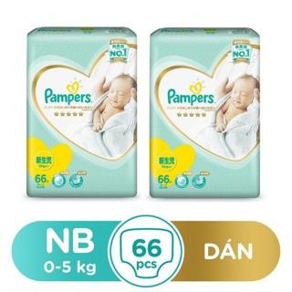 """Bộ 2 Tã/Bỉm Dán Pampers Nhật Bản size NB66/S60/M48/L40 giá chỉ còn <strong class=""""price"""">49.300.000.000đ</strong>"""