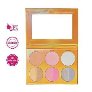 [HÀNG LỖI] Phấn Bắt Sáng Bh Cosmetic Duolight Highlight 9 Color Palette