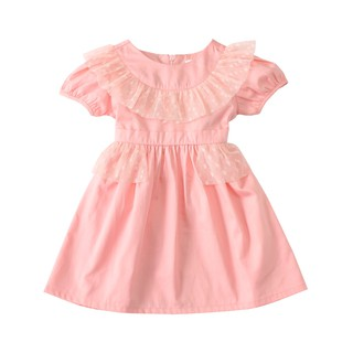 Đầm tay phồng bé gái Amprin Carol D520 thumbnail