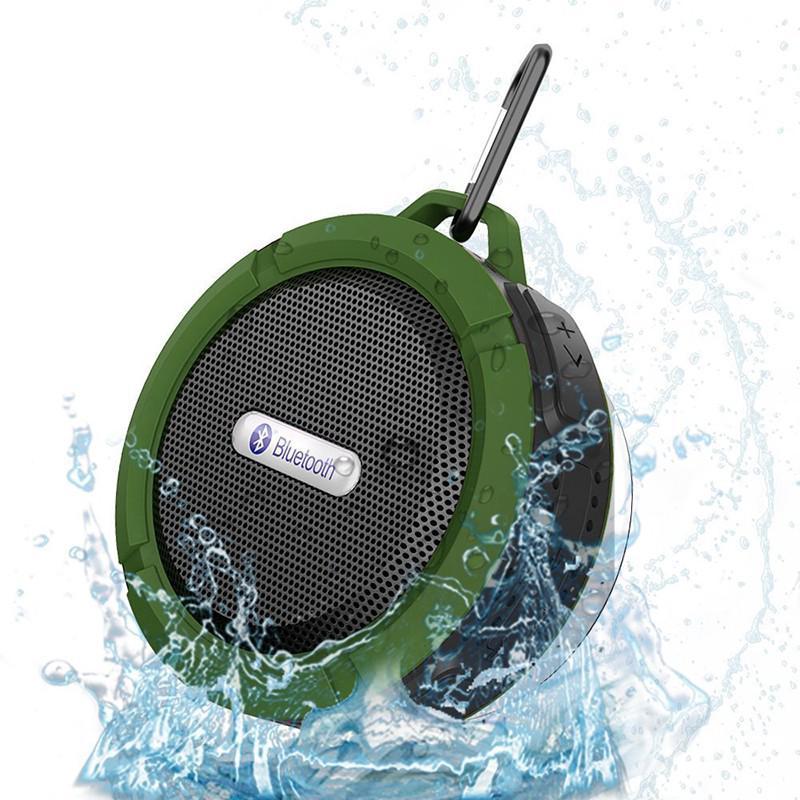 Loa Bluetooth không dây chống nước hỗ trợ thẻ nhớ TF