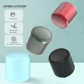 hadinas Loa Bluetooth 5.0 Mini Xoay 360 Độ Kèm Phụ Kiện